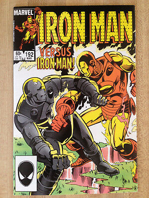 IRON MAN #192 NM 1985 Original Parker Brothers Risk Board Game Ad L@@K WOW!!!