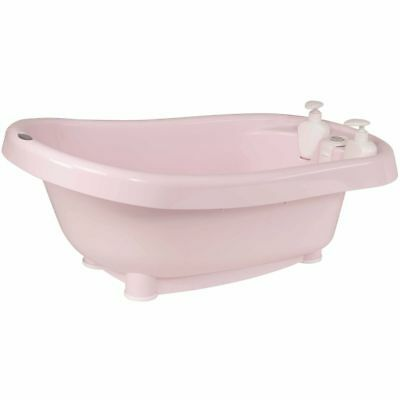 Bébé-Jou Thermo Bath Click Pink Baby Bathtub Support Soap Dispensers 4260054
