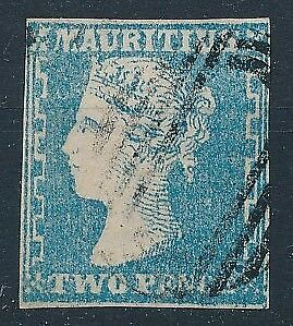 [58437] Mauritius Very good Used F/VF Signed old stamp