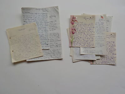 11 WWII Letters Soldier Correspondence World War Two Military VTG WW2