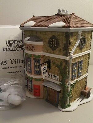 Dept 56 Dickens Village Series - 1992 Kings Road Post Office 58017 - Retired