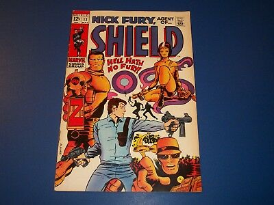 Nick Fury Agent of Shield #12 Silver Age Barry Smith Wow Fine Beauty