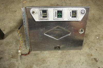 Bally Paragon, Playboy,kiss,and Others Pinball Machine Coin Door Assy