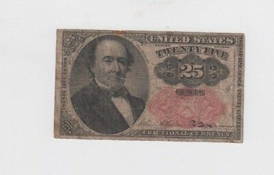 Fractional Currency Civil War era item to the 1870's  vg-fine