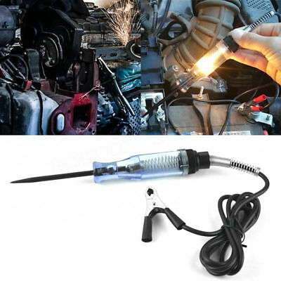 Systems Long Probe Continuity Test Light Car Voltage Circuit Tester 6V to 24V DC
