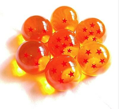 DBZ Dragonball Wish Orbs Set Dragon Balls 1 Star to 7 Star 10cm/100mm/4 inches