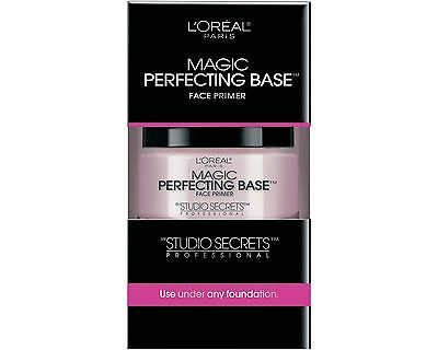 1 X Loreal Studio Secrets Professional Magic Perfecting Base Face Primer 0.50 Oz