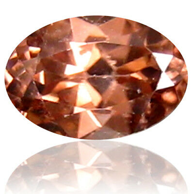 0.71 ct Incredible Oval Cut (6 x 4 mm) Honey Brown Zircon Natural Gemstone