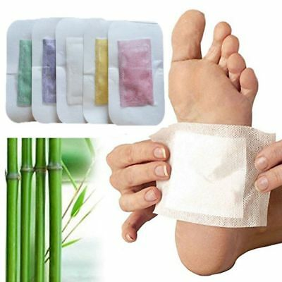 4X Chinesische Medizin Balsam Detox Fuß Patches Entgiftung Pads Health Care