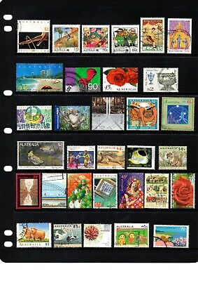 Australian sheet stamps, including high value, free post - off paper - Lot 374.