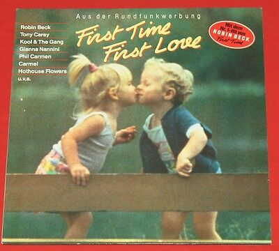 First Time First Love - LP V.A. Robin Beck,Johnny Nash,The Kinks,Kool & The Gang