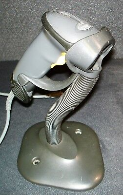 SYMBOL LS2208-SR20007R BARCODE SCANNER w/ USB Cable & Stand LS 2208