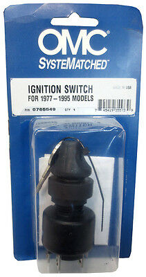 Evinrude/Johnson, OMC Ignition Switch, 1977-1995 Engines, 0508180, 0765549