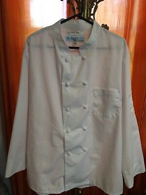 Regent Chef Coat knotted buttons size large