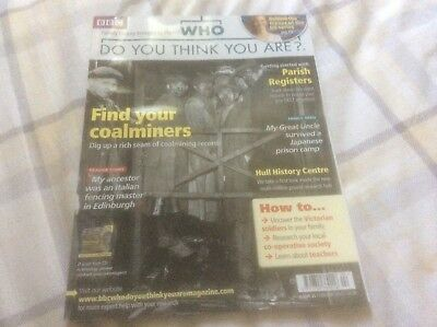 BBC Who Do You Think You Are? Mag - #31 February 2010 - Find Your Coalminers