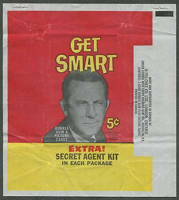 1966 O-Pee-Chee Get Smart Wrapper
