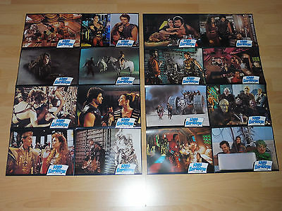 THE ICE PIRATES - set of 16 lobby cards ´84 - ROBERT URICH
