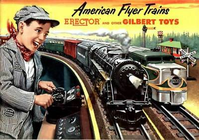 American Flyer Trains Vintage Brochure / Catalog from 1953