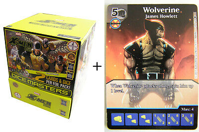 Marvel Dice Masters - X-Men First Class Gravity Feed Display + Promo Karte