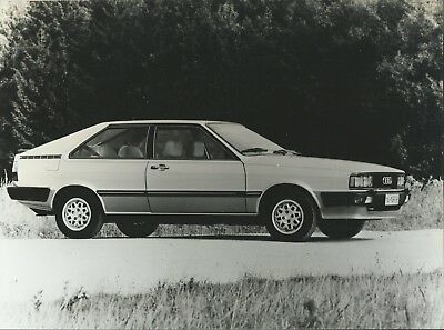 Audi GT Coupe 1982 Original Press Photograph Excellent Condition