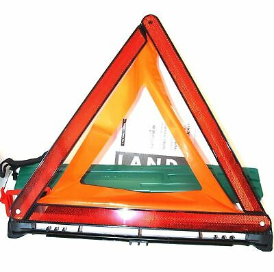 Land Rover Genuine Emergency Safety Accessory Warning Triangle KCC500021