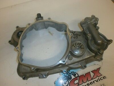 clutchcover Honda CRF450X (2007) waterpumpcover  CRF450X cover CRF450X