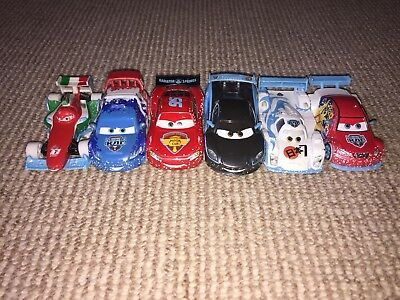 Disney Cars 2 Diecast Ice Car Racers Bundle