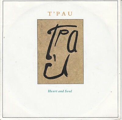 """7""""-  T'pau = Heart And Soul / On The Wing ..........................1987"""