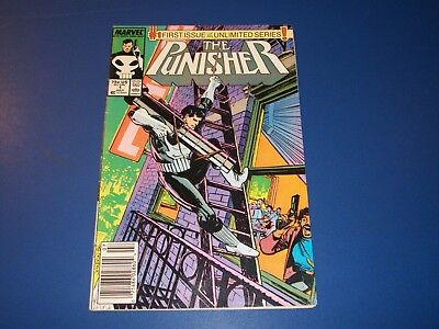 Punisher #1 Bronze age Solid Fine- Beauty