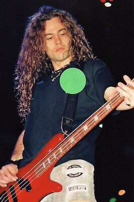 Alice In Chains Mike Starr 9 - 4X6 Color Concert Photo Set #1Aa