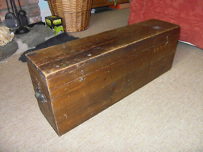 CARPENTERS BOX ** Lord Roberts Workshops ** dovetailled ends