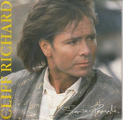 """7""""-  Cliff Richard = Some People / One Time Lover Man .................1987"""