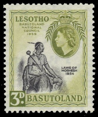 "BASUTOLAND 58 (SG55) - National Council ""Chief Moshoeshoe"" (pa90244)"