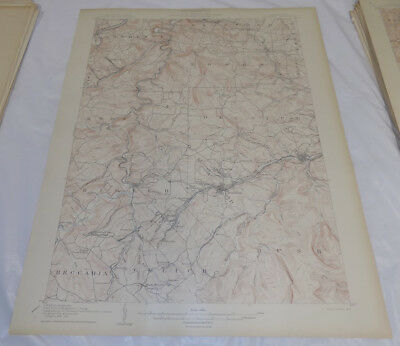 1905 Topographic Map HOUTZDALE QUADRANGLE/CLEARFIELD COUNTY, PENNSYLVANIA