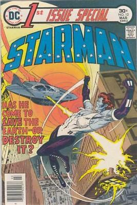 FIRST ISSUE SPECIAL #12 VG, 1st Blue STARMAN, DC Comics 1976 Stock Photo