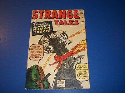 Strange Tales #101 Silver Age 1st Solo Human Torch Solid Huge Key Wow