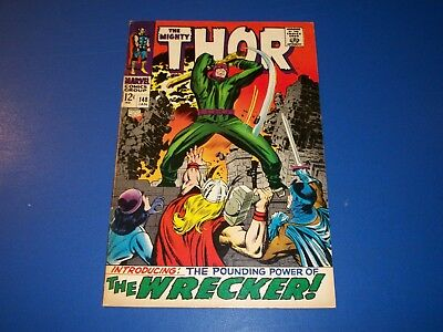 The Mighty Thor #148 Silver age 1st Wrecker Key Wow Nice Fine Beauty
