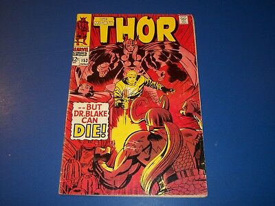 The Mighty Thor #153 Silver Age VGF Wow