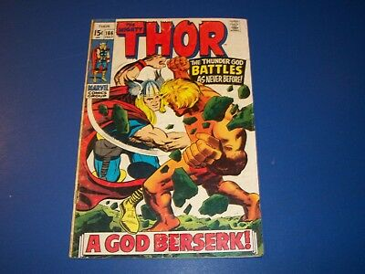 The Mighty Thor #166 Silver Age 1st Full Warlock (Him) Story Wow