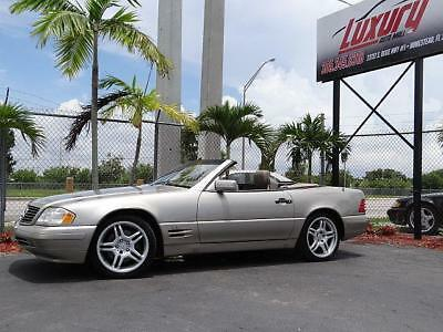 SL-Class Mercedes SL-Class SL600 SL 600 V12 Roadster R129 1998 Mercedes SL600 V12 * NO RESERVE AUCTION * LOW MILES WELL MAINTAINED FLORIDA