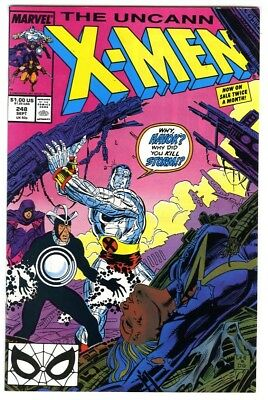 Uncanny X-Men #248 (1989) NM- Marvel Comics Jim Lee art