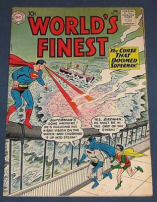 World's Finest Comics #115  Feb 1961  Superman Batman