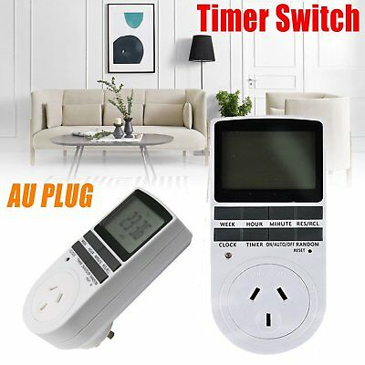 Digital Timer Switch Automation Socket Electric Programmable Power AU Plug 240V