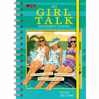 The LANG Companies Girl Talk 2019 Engagement Planner - Spiral (19991011106)