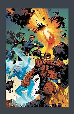 Fantastic Four #1 Lupacchino 1:25 Variant Nm Presale 8 /08/ 2018 Return Of