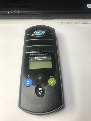 HACH Pocket Colorimeter II for CHLORINE Model 5953000 (Used)