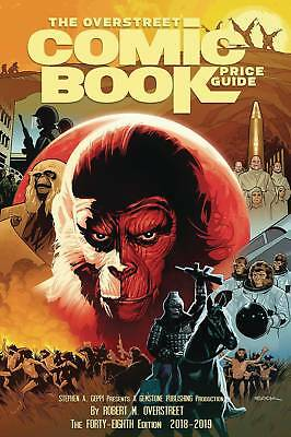 OVERSTREET 2018 2019 COMIC BOOK PRICE GUIDE #48 HARDCOVER Planet of the Apes HC