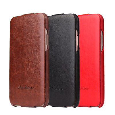Ultra-thin Luxury Leather Flip Case Cover for iPhone 5 5S SE 6 6S 7 8 X