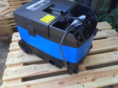 PDP PV25 Wet and Dry Vacuum Dust Extractor 240v including bag and filter and hos