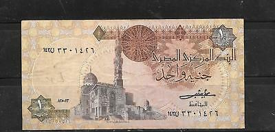 EGYPT ##50c 1985 POUND VERY GOOD USED OLD BANKNOTE PAPER MONEY CURRENCY NOTE